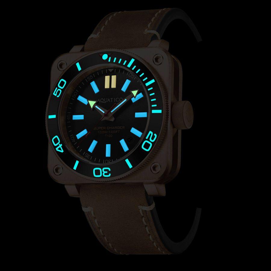 Aquatico Super Charger AQ1012-BR-BL
