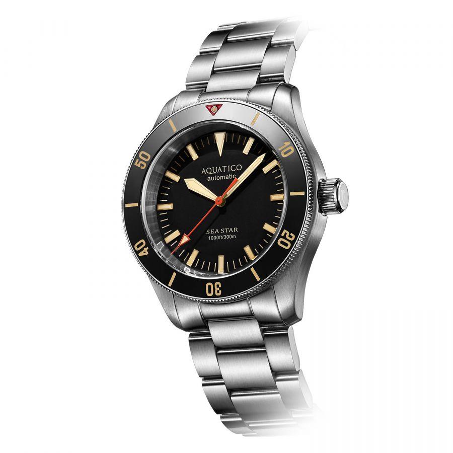 Aquatico Sea Star V2 Black AQ1009S-BK