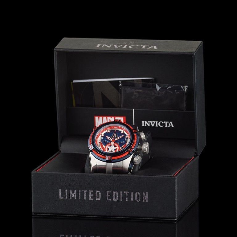 Invicta Marvel Captain America Limited Edition 27045