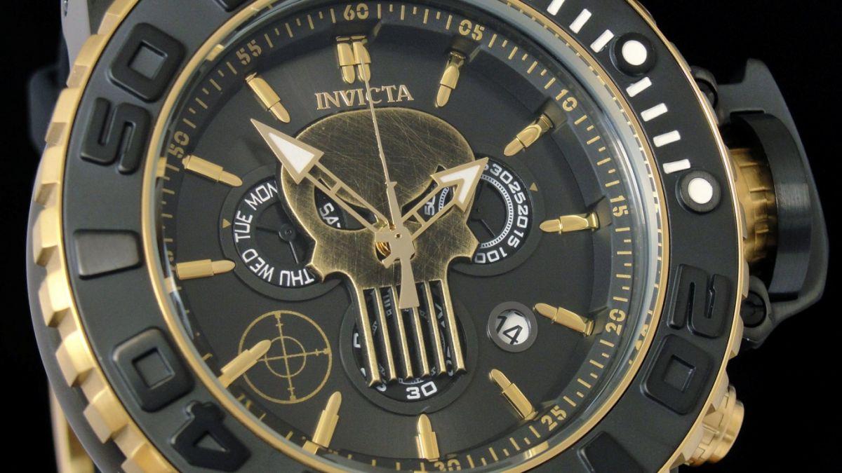 Invicta Marvel Punisher Limited Edition 26787