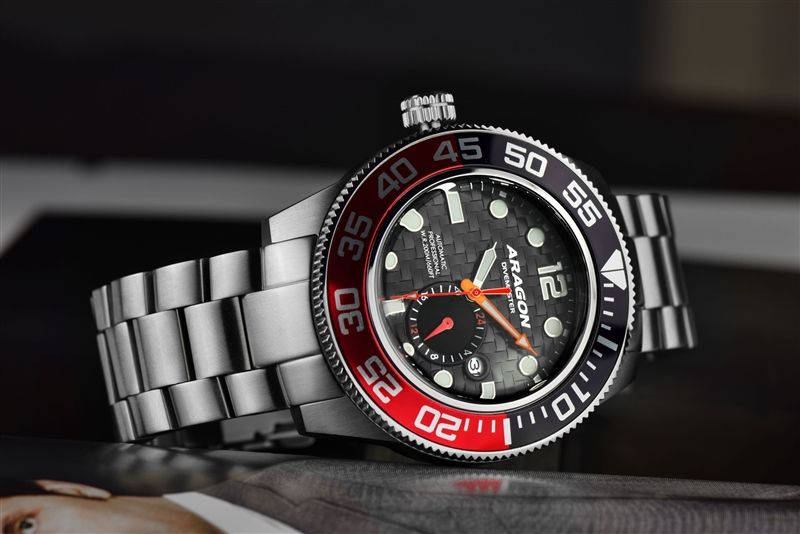 Aragon Divemaster III A339RED 45мм