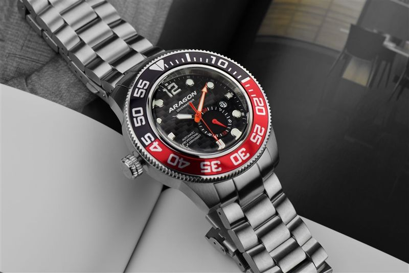 Aragon Divemaster III A338RED 50мм