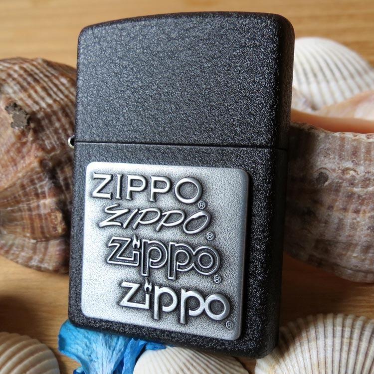 Zippo 363 Pewter Emblem